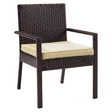 crosley palm harbor outdoor wicker dining chair set of 2 target