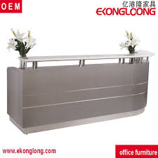 Two Person Reception Desk Top Modern Reception Counter Table For Two Person Office