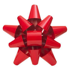 martha stewart living 19 in red metal bow 2204100hd the home depot