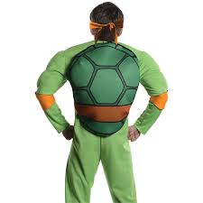 stick figure halloween costumes michelangelo ninja turtle costume for adults deluxe costume