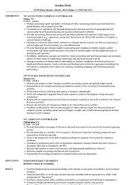 assistant controller resume samples controller vp resume samples velvet jobs