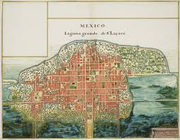Old Mexico Map by Relingos The Brooklyn Quarterly