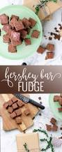 homemade hershey bar fudge oh so delicioso