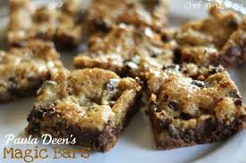 paula deen s magic bars chef in