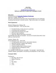 Objectives Resume Examples by The Most Amazing Resume Sample For Computer Technician Resume