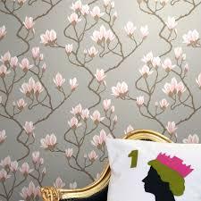 Contemporary Wallpaper Magnolia 72 3010 New Contemporary Cole U0026 Son