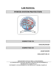 power system protection lab manual matlab matrix mathematics