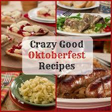 oktoberfest menus and recipes oktoberfest recipes mrfood