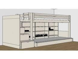 lit mezzanine avec bureau fly lit lit mezzanine fly nouveau personal design fly d angle dangle