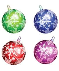 christmas ornate balls vector free vector graphic resources
