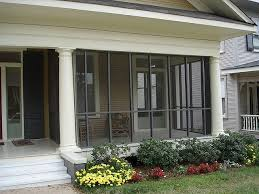 screened in front porch screen in the front porch new columns new