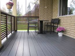 patio wooden deck flooring options with decorative flower square