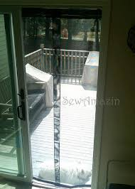 Magnetic Patio Screen Door Diy Screen Curtains I U0027ve Looked At These Never Thought Of