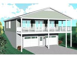 Sloping House Plans Carriage House Plans Plan For A Sloping Or Waterfront Lot 006ghome