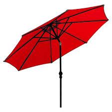 Galtech Patio Umbrellas by Market Umbrella Shoppe Red Market Umbrella Collection Choose
