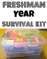 graduation gifts for high school our lives are an open freshman year survival kit