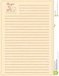 recipe journal template exol gbabogados co