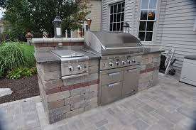 kitchen interesting image of outdoor u shape kitchen design and