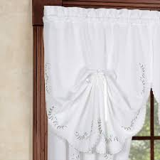 window fan ideas for curtains with slat venetians and white