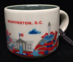 you are here ornament washington d c starbucks mugs