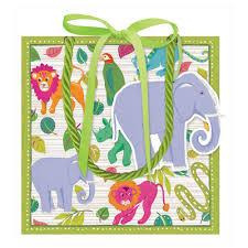 caspari gift bags madagascar small square gift bag 1 each caspari