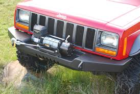 jeep cherokee chief xj xj standard front bumper ratchets offroad