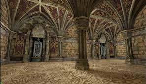castle interior udk eat 3d