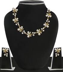 pearls necklace online images Pearl necklaces buy pearl necklaces online at best prices in jpeg