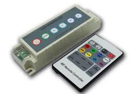rgb led light radio frequency controller wireless keypad