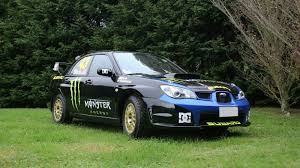 subaru impreza old you can buy ken block u0027s old rally car