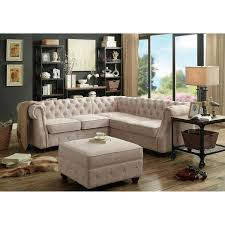 Tufted Sectional Sofas Moser Bay Furniture Tufted Sectional Sofa Free Shipping