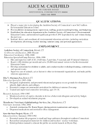 Education Resumes Examples by Resume Sample For Higher Education Resignation Letter Samples