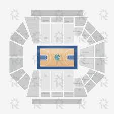 San Jose Convention Center Floor Plan Bankunited Center Basketball Dynamic Seating Charts
