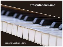 templates powerpoint free download music download free piano powerpoint template for your powerpoint
