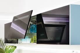 meuble haut cuisine vitré haut cuisine facade verre