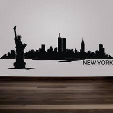 Handmade In New York - new york wall decal newyork city nyc wall decal skylie dec mural