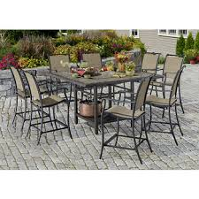 Bjs Patio Furniture Sets Living Home Outdoors Palazzo 9 Pc High Dining Set Bj U0027s