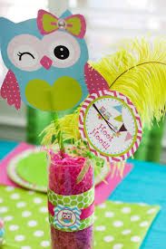owl centerpieces idea for decoration you could use dollar tree vases and get