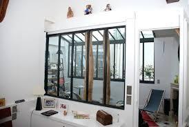 cloison vitree cuisine salon separation de cuisine en verre 1 cloison amovible dans la cuisine in
