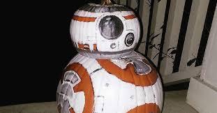 bb 8 pumpkin u0027star wars u0027 fans roll halloween