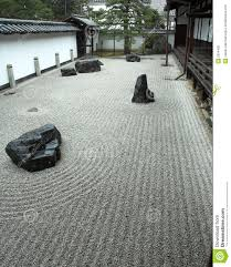 Rock Zen Garden Rock Garden In Kyoto Japan Stock Photo Image Of Kyoto Ripple