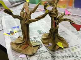 Halloween Scary Crafts by Fall Or Halloween Craft Paper Bag Trees