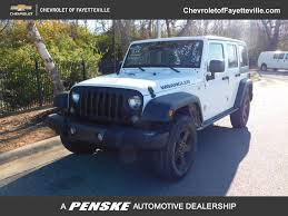 black and teal jeep 2016 used jeep wrangler unlimited 4wd 4dr black bear at chevrolet