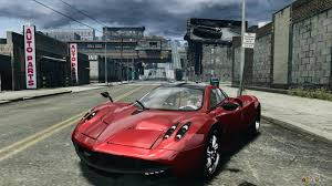 pagani huayra red huayra for gta 4