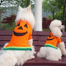 Pitbull Dog Halloween Costumes Aliexpress Buy Funny Halloween Big Large Dog Knitted Sweater