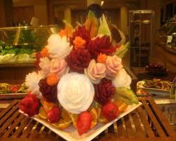 edible fruit centerpieces king creations fruit carvings