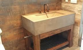 Concrete Vanity Custom Concrete Furniture Enhancing The Aesthetics Of Homes