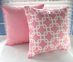 bedding decorative pillows toddler girl bedding decorative pillow covers baby pink polka dot