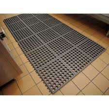 Padded Kitchen Rugs Smart Step Home Anti Fatigue Comfort Mat Fleur De Lys Series