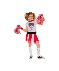 zombie cheerleader kids costume girls costumes